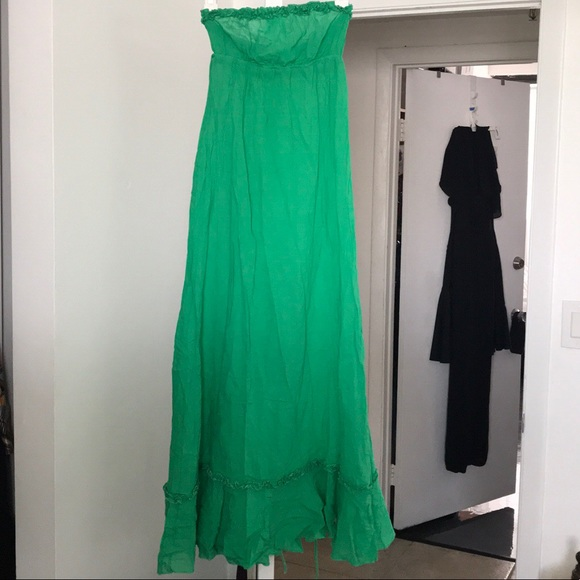 14aae6439b Juicy Couture Dresses   Skirts - Green Juicy Couture Strapless Dress